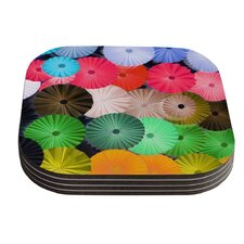 Parasol by Heidi Jennings Coaster (Set of 4)