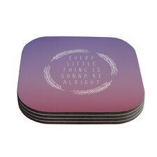 Little Thing by Galaxy Eyes Coaster (Set of 4)