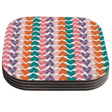 Hearts by Louise Machado Coaster (Set of 4)