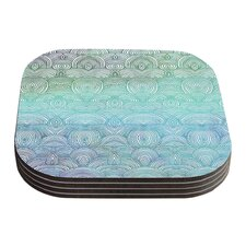 Clouds in the Sky by Pom Graphic Design Coaster (Set of 4)