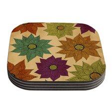 Color Me Floral by Pom Graphic Design Coaster (Set of 4)