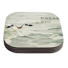 Dream Big by Robin Dickinson Coaster (Set of 4)