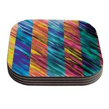 Set Stripes I by Theresa Giolzetti Coaster (Set of 4)