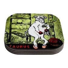 Taurus by Theresa Giolzetti Coaster (Set of 4)