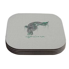 Capricorn by Belinda Gillies Coaster (Set of 4)