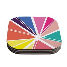 Boldly Bright by Belinda Gillies Coaster (Set of 4)