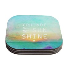You Are My Sunshine by Alison Coxon Coaster (Set of 4)