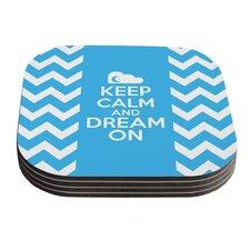 Keep Calm by Nick Atkinson Coaster (Set of 4)
