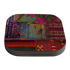 Ethnic Escape by S. Seema Z Coaster (Set of 4)