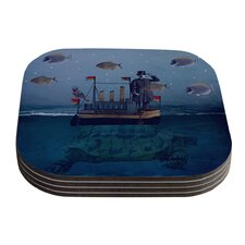 The Voyage by Suzanne Carter Coaster (Set of 4)