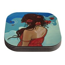 Sea Swept by Lydia Martin Coaster (Set of 4)