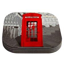 London by Oriana Cordero Coaster (Set of 4)