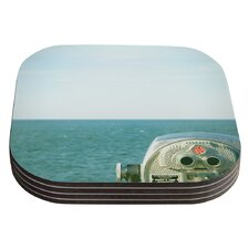 Ocean View by Robin Dickinson Coaster (Set of 4)