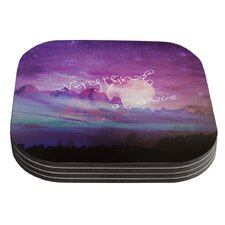 Everything At Once by Monika Strigel Coaster (Set of 4)