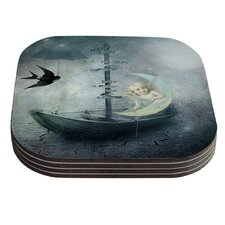 Rain by Suzanne Carter Coaster (Set of 4)