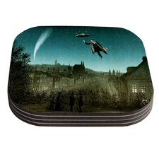 The Departure by Suzanne Carter Coaster (Set of 4)