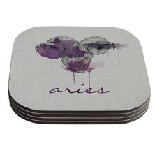 Aries by Belinda Gillies Coaster (Set of 4)
