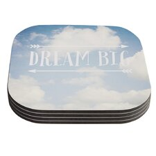 Dream Big by Susannah Tucker Clouds Coaster (Set of 4)
