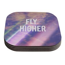 Fly Higher by Rachel Burbee Coaster (Set of 4)