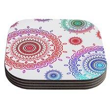 Rainbow Infinity by Monika Strigel Coaster (Set of 4)