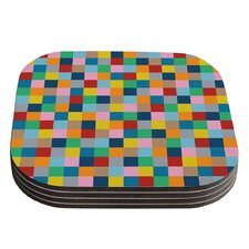 Colour Blocks Zoom by Project M Coaster (Set of 4)