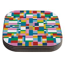 Map by Project M Coaster (Set of 4)