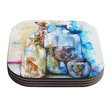 Bottled Animals by Kira Crees Coaster (Set of 4)