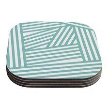 Stripes by Louise Machado Coaster (Set of 4)
