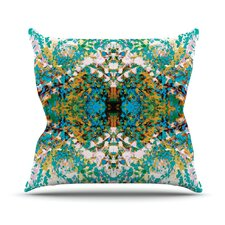Summer Breeze by Nikposium Throw Pillow