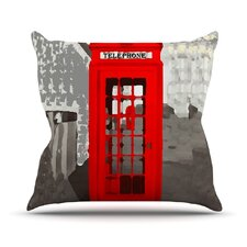 London by Oriana Cordero Throw Pillow