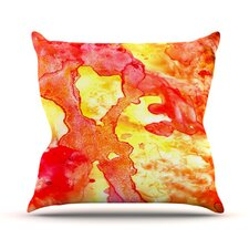 Hot Hot Hot by Rosie Brown Throw Pillow