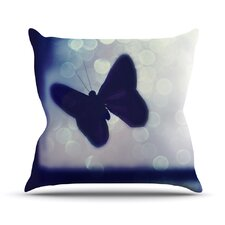 Enchanted by Robin Dickinson Butterfly Throw Pillow