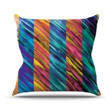 Set Stripes I by Theresa Giolzetti Throw Pillow