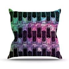 Paint Tubes II by Theresa Giolzetti Throw Pillow