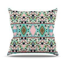 Deco Hippie Throw Pillow
