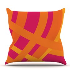Tangled by Fotios Pavlopoulos Throw Pillow