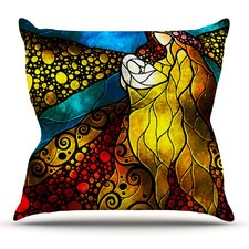 What Child Is This by Mandie Manzano Throw Pillow