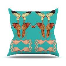 Glu-Glu by Debora Chodik Throw Pillow