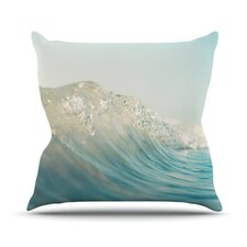 The Wave by Bree Madden Throw Pillow