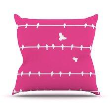 Birds by Bree Madden Throw Pillow