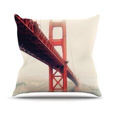 Golden Gate by Bree Madden Throw Pillow