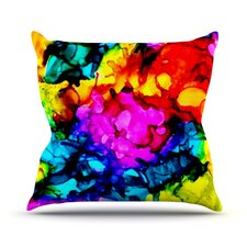 Sweet Sour by Claire Day Throw Pillow