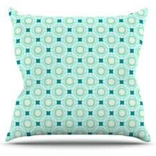 Tossing Pennies I by Catherine McDonald Throw Pillow