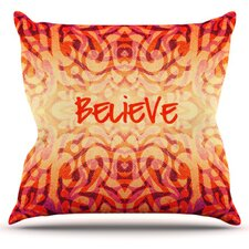Tattooed Believer by Caleb Troy Throw Pillow