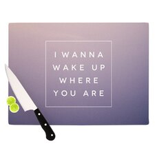 Wake Up Cutting Board