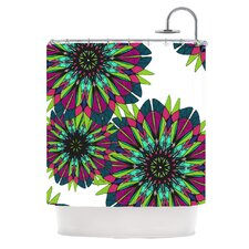 Bright Polyester Shower Curtain