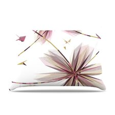 Flower Microfiber Fleece Pillow Case