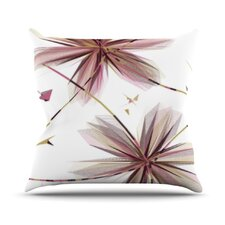 <strong>KESS InHouse</strong> Flower Throw Pillow
