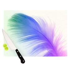 Feather Cutting Board
