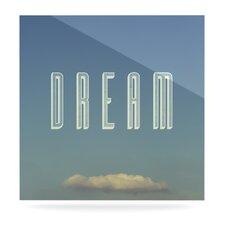 Dream Print by Anna Farath Textual Art Plaque